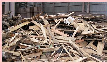 木くず類の管理・引取
